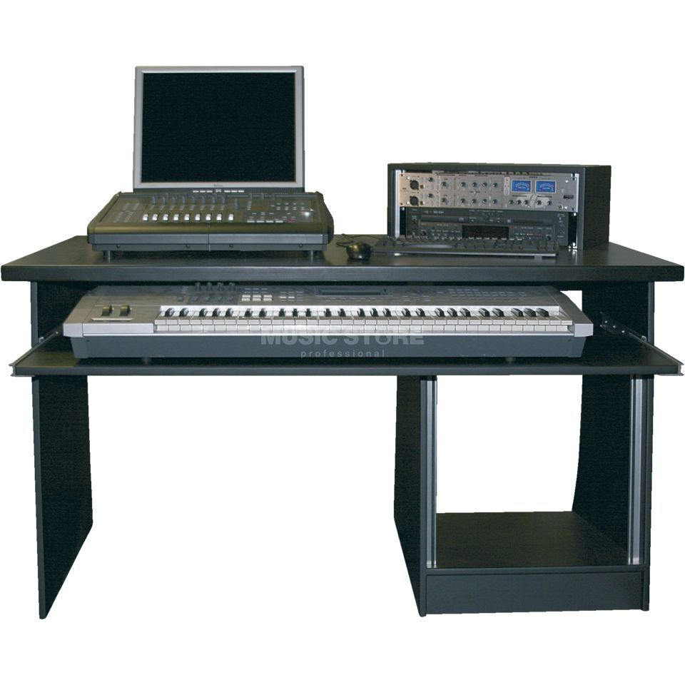 MUSIC STORE MINIstation Production Table Black Produktbillede