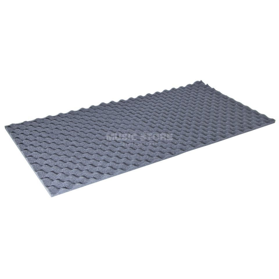 MUSIC STORE Noppo AbsorberFoam, anthr. 14x - 50x100 cm, 20mm stark Produktbillede