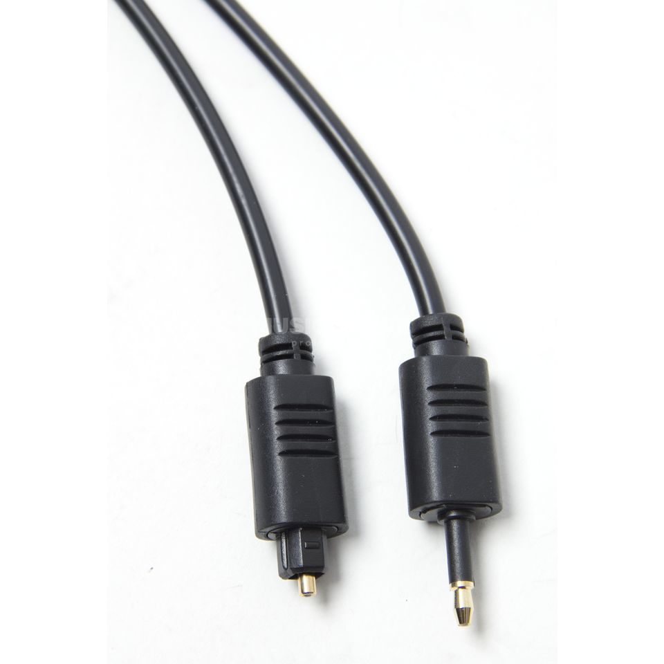 MUSIC STORE Optical Cable 2m Toslink male/3,5mm opt. Klinke Produktbild