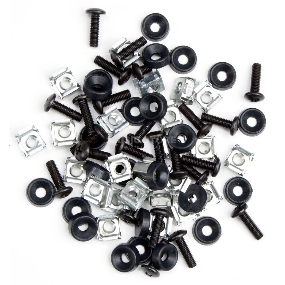 MUSIC STORE Rack Screw Set Pack 72 pieces Produktbillede