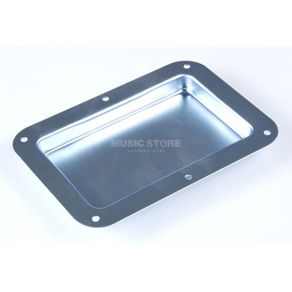MUSIC STORE Shelve - without holes - galvanized 178 x - 127 mm Produktbillede