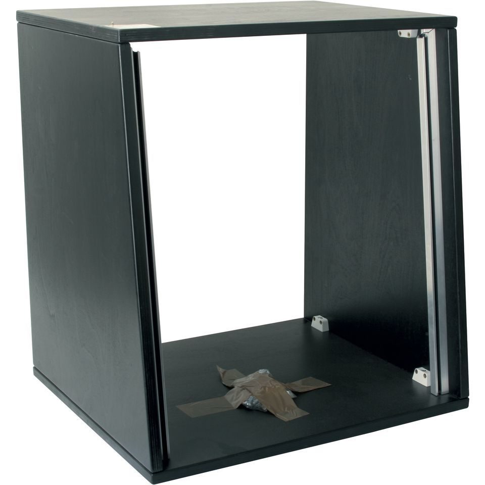 MUSIC STORE Studiorack 12 HE Birch MP sw Kit, black Produktbillede