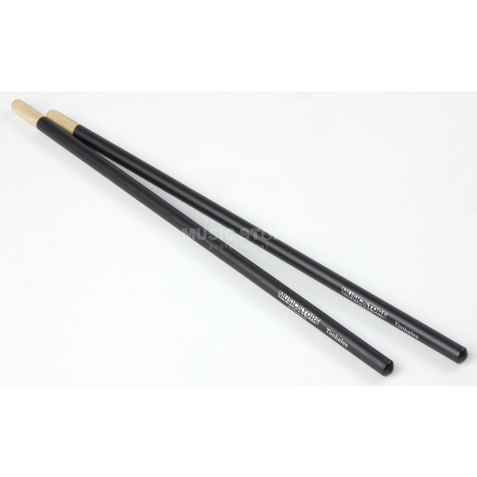 MUSIC STORE Timbales Sticks, Black Produktbillede
