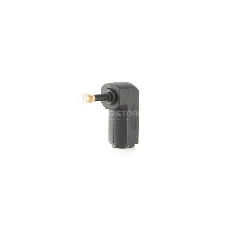 MUSIC STORE TOS 701 Ad. Toslink to 3.5mm opt. Coupling to Angled Jack Produktbillede