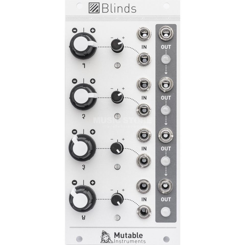 Mutable Instruments Blinds Quad VC-polarizer Productafbeelding