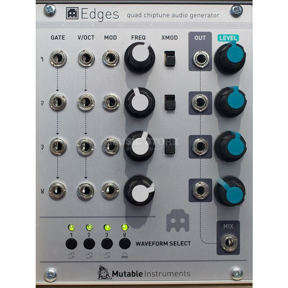 Mutable Instruments Edges Quad chiptune audio generator Produktbillede