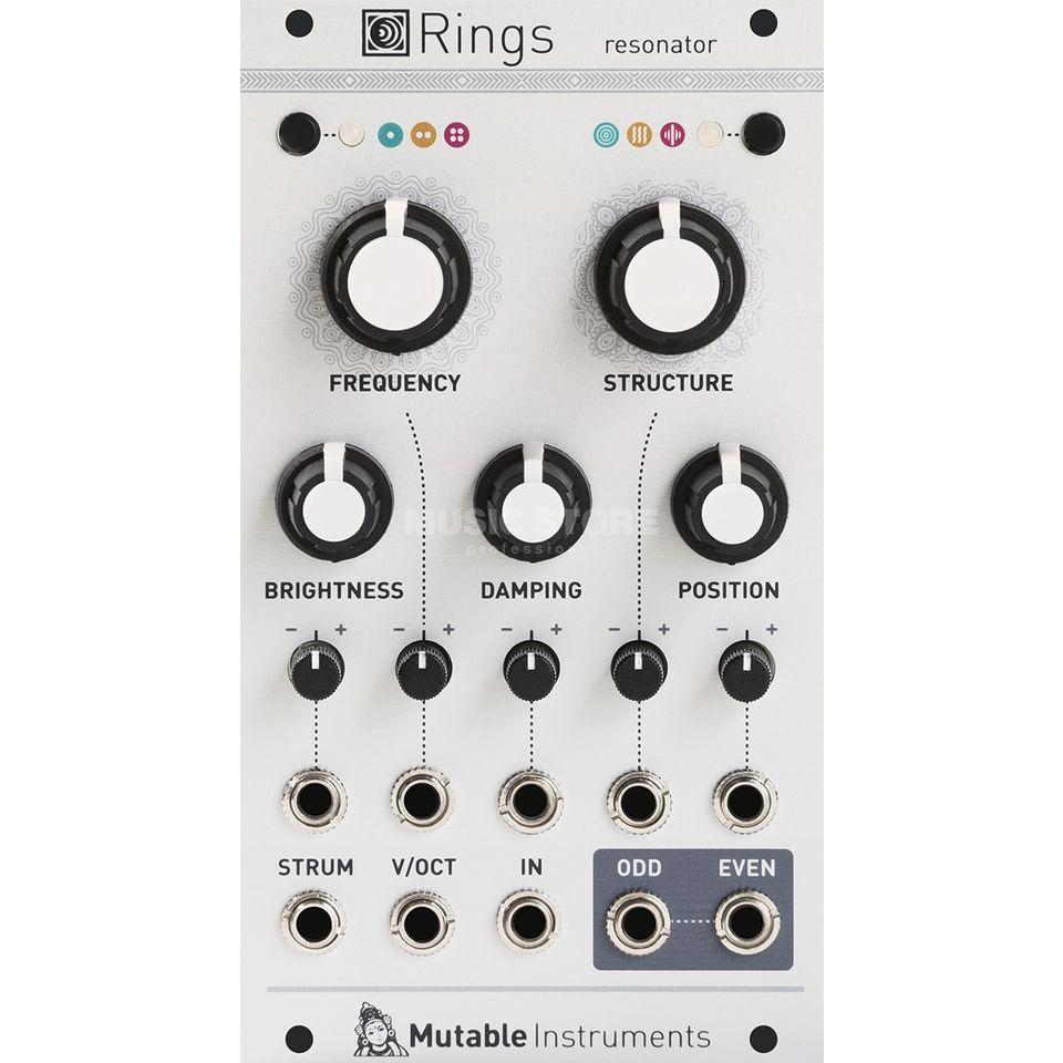 Mutable Instruments Rings Elements' resonator section Produktbillede