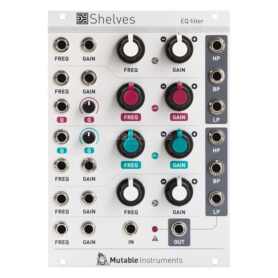 Mutable Instruments Shelves EQ Filter Produktbild