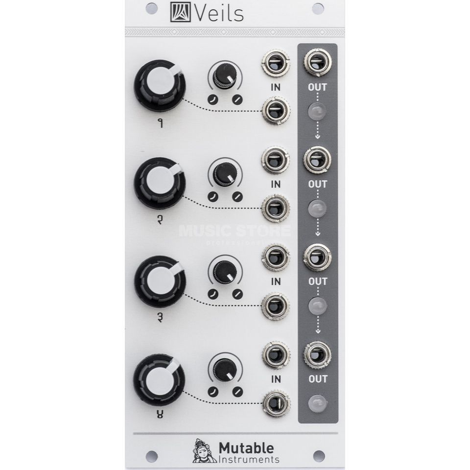Mutable Instruments Veils Quad VCA Product Image