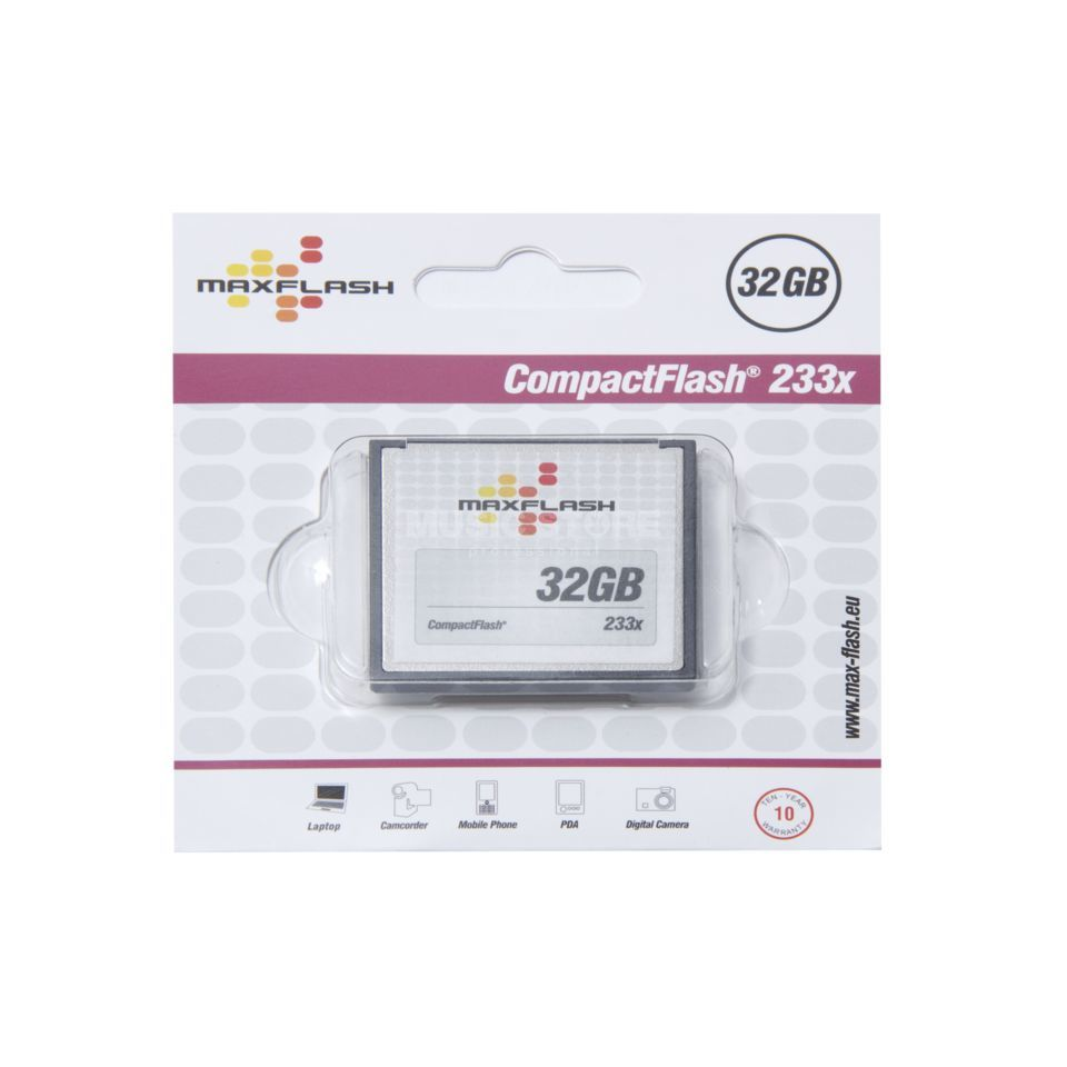 Mutec Compact Flash 32 GB, 233x  Produktbild