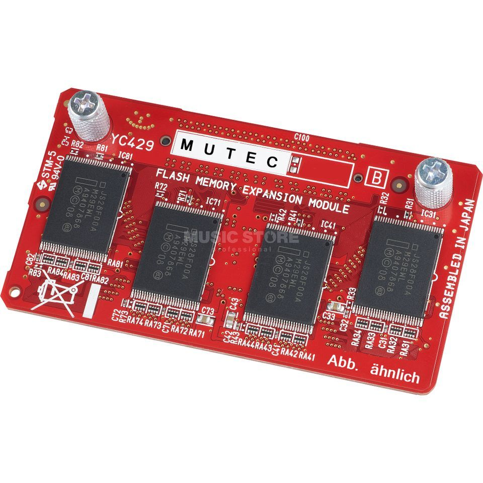 Mutec FMC-05 512MB FlashROM Expansion für Yamaha Produktbild