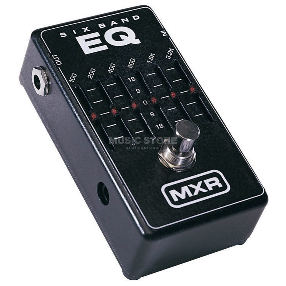 MXR M109 Six Band EQ  Productafbeelding