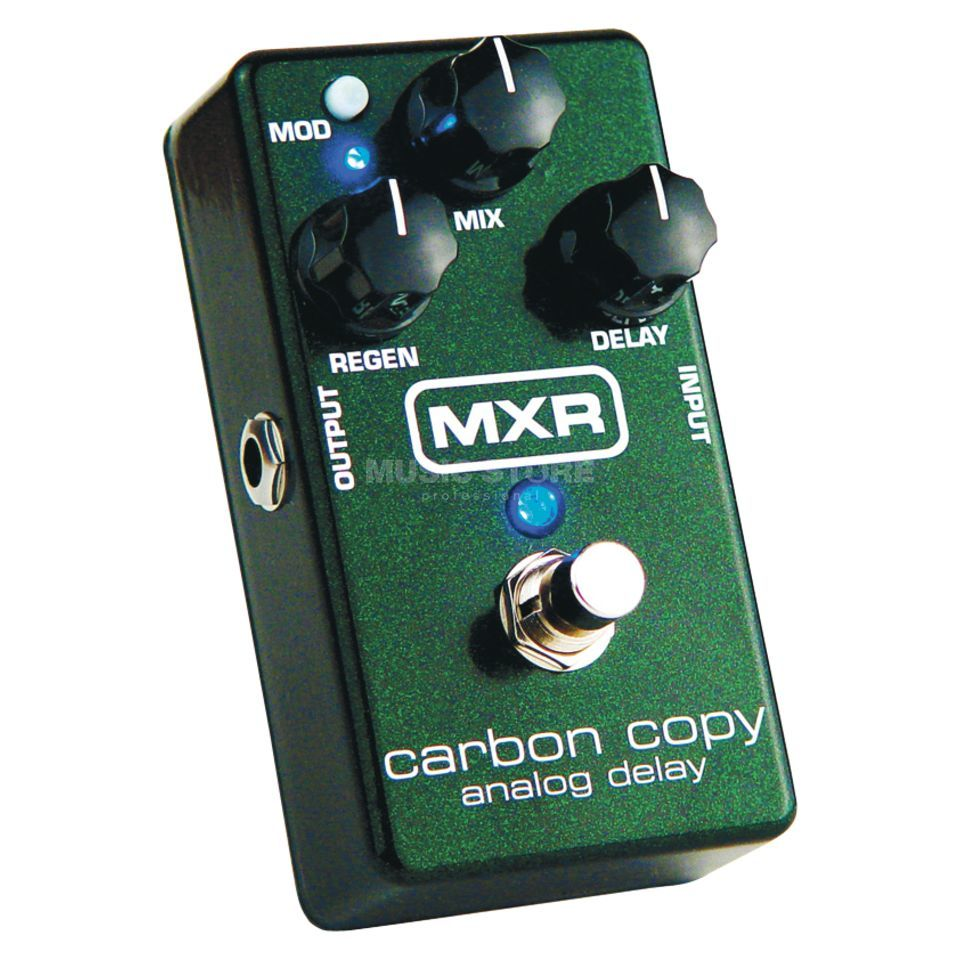 MXR M169 Carbon Copy Analog Delay Produktbild