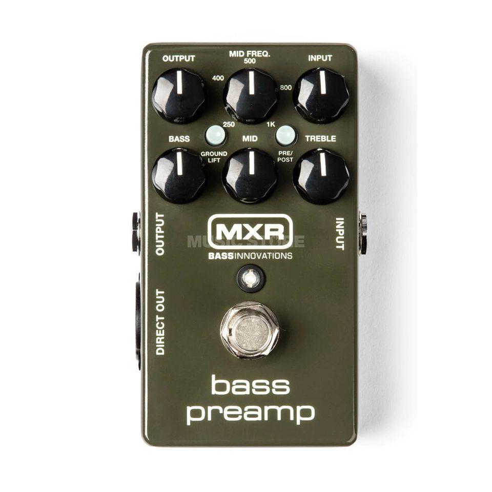 MXR M81 Bass Preamp  Product Image