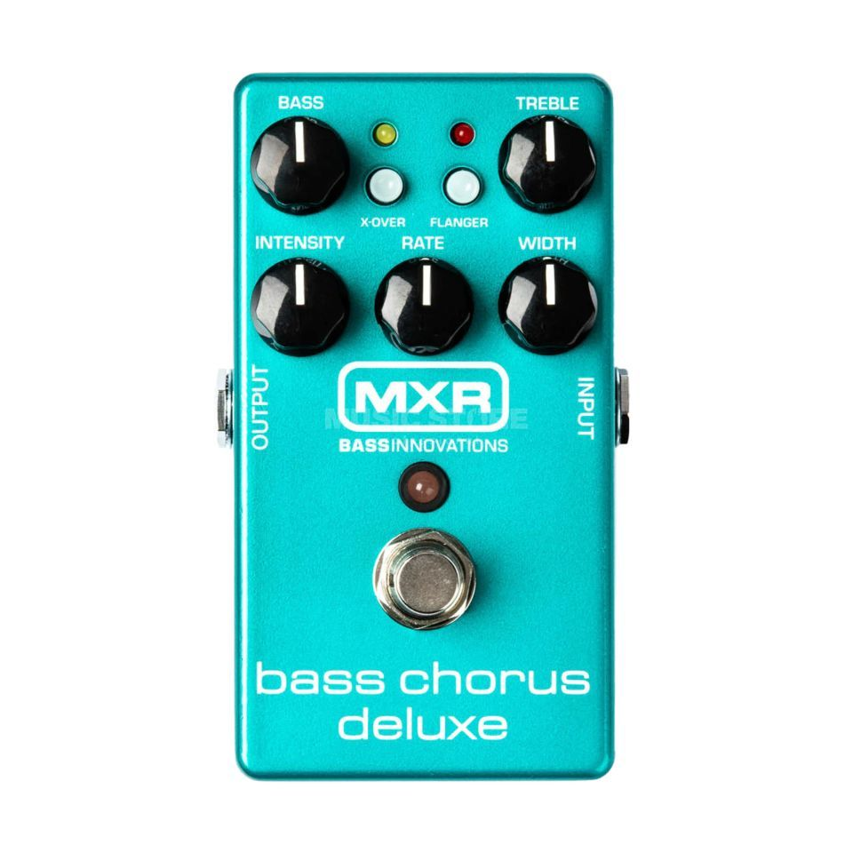 MXR M83 bas Chorus Deluxe Chorus Flanger pedaal Productafbeelding