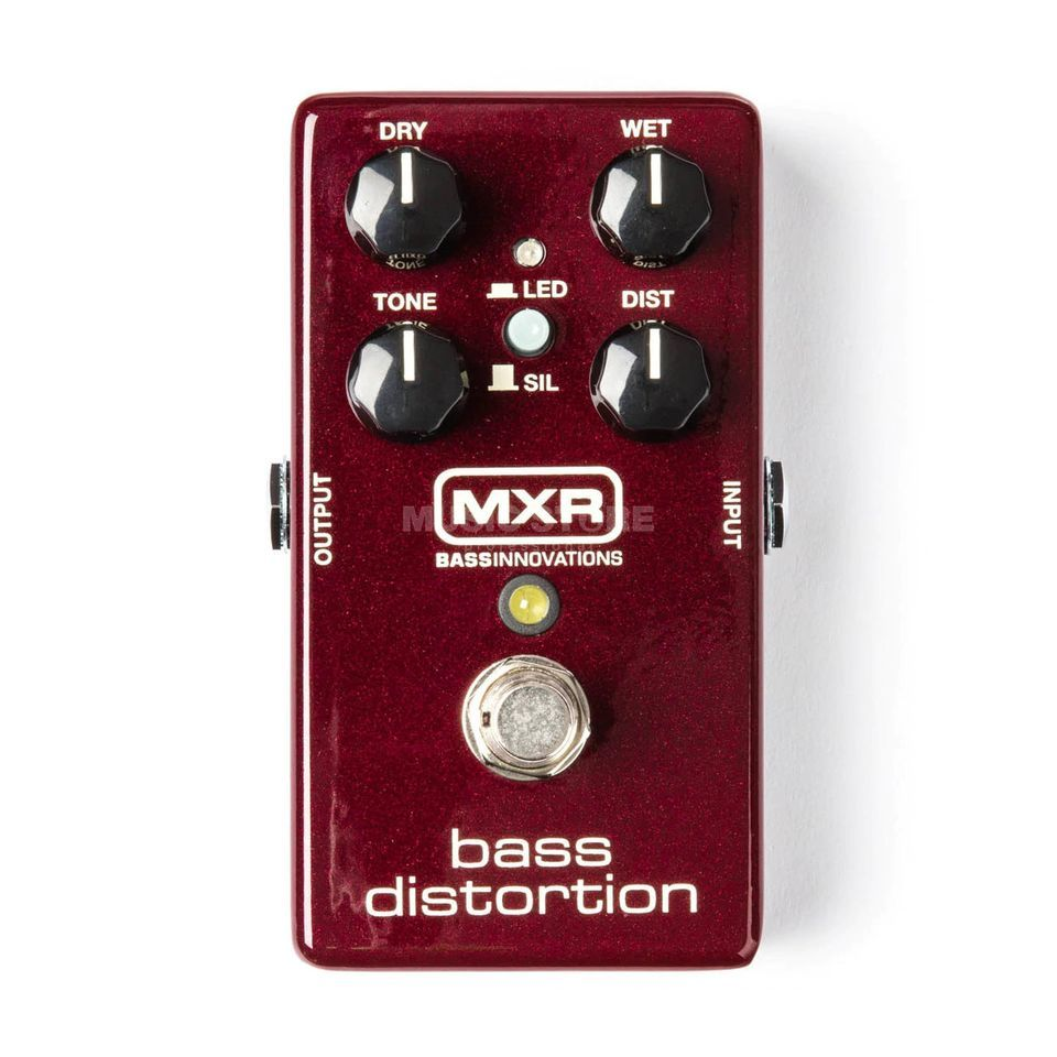 MXR M85 Bass Distortion Produktbillede