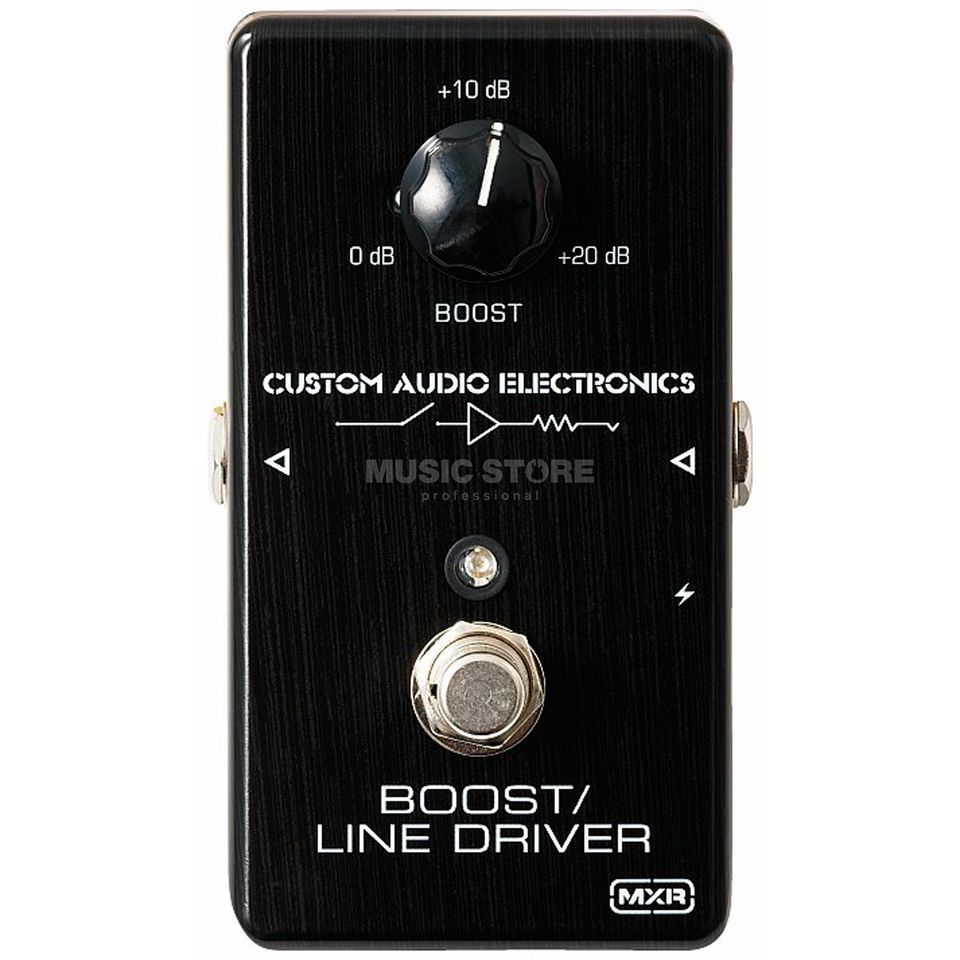 MXR MC401 Boost/Line Driver Custom Audio Electronics Produktbild