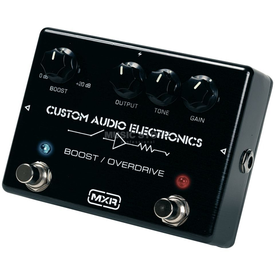 MXR MC402 Custom Audio Electronics  Boost/Overdrive Pedal   Produktbillede