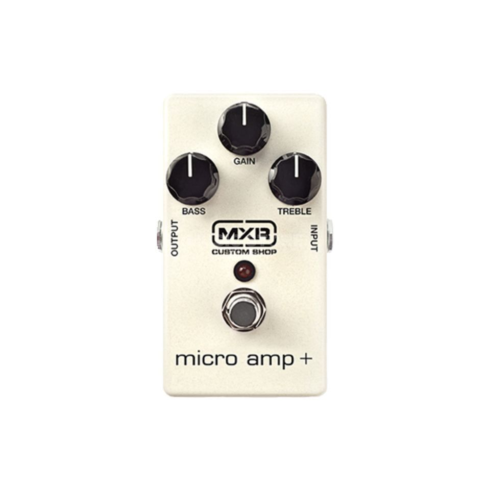 MXR Micro Amp Plus MXR Custom Shop B-Stock Produktbillede