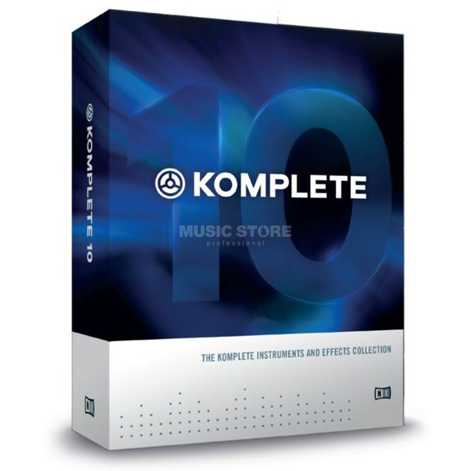Native Instruments Komplete 10 CGR Crossgrade Machine Produktbillede