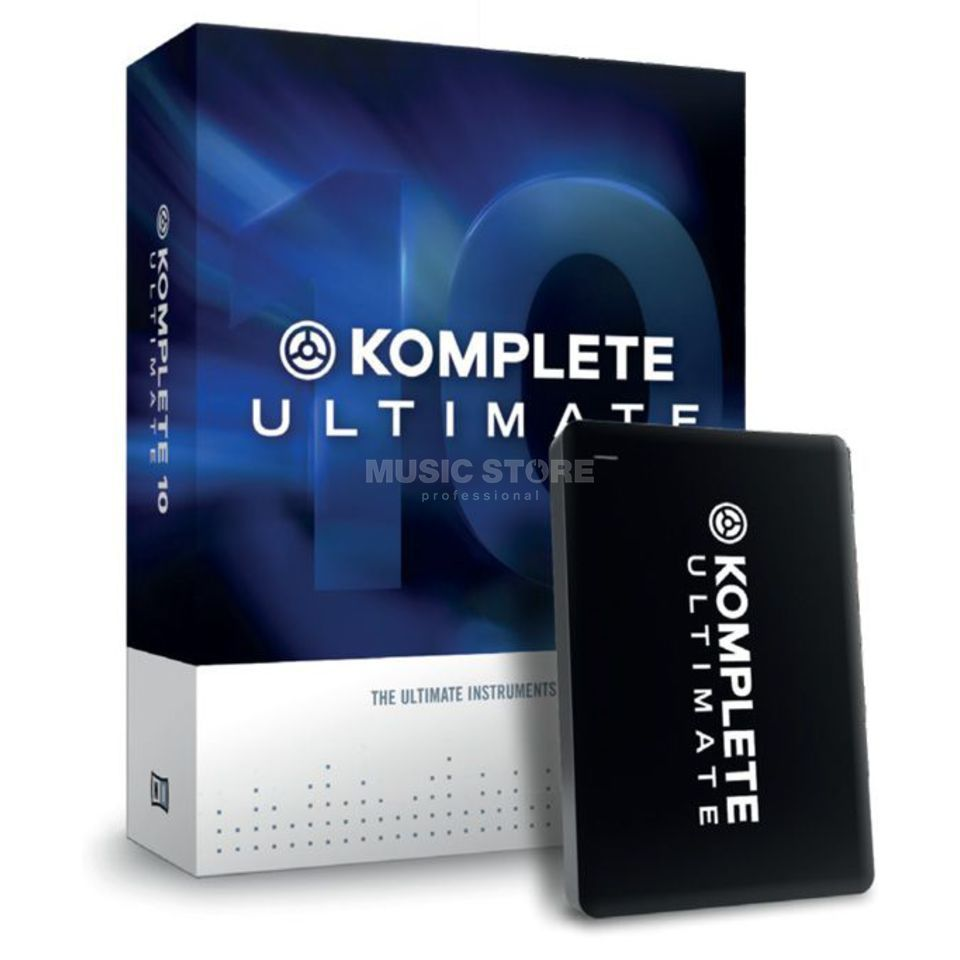 Native Instruments Komplete 10 Ultimate UPG 3 Upgrade von K Ultimate 8-9 Produktbild