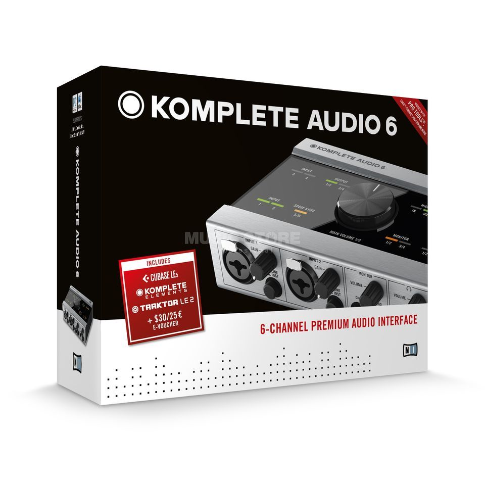 Native Instruments Komplete Audio 6 Interface    Produktbillede