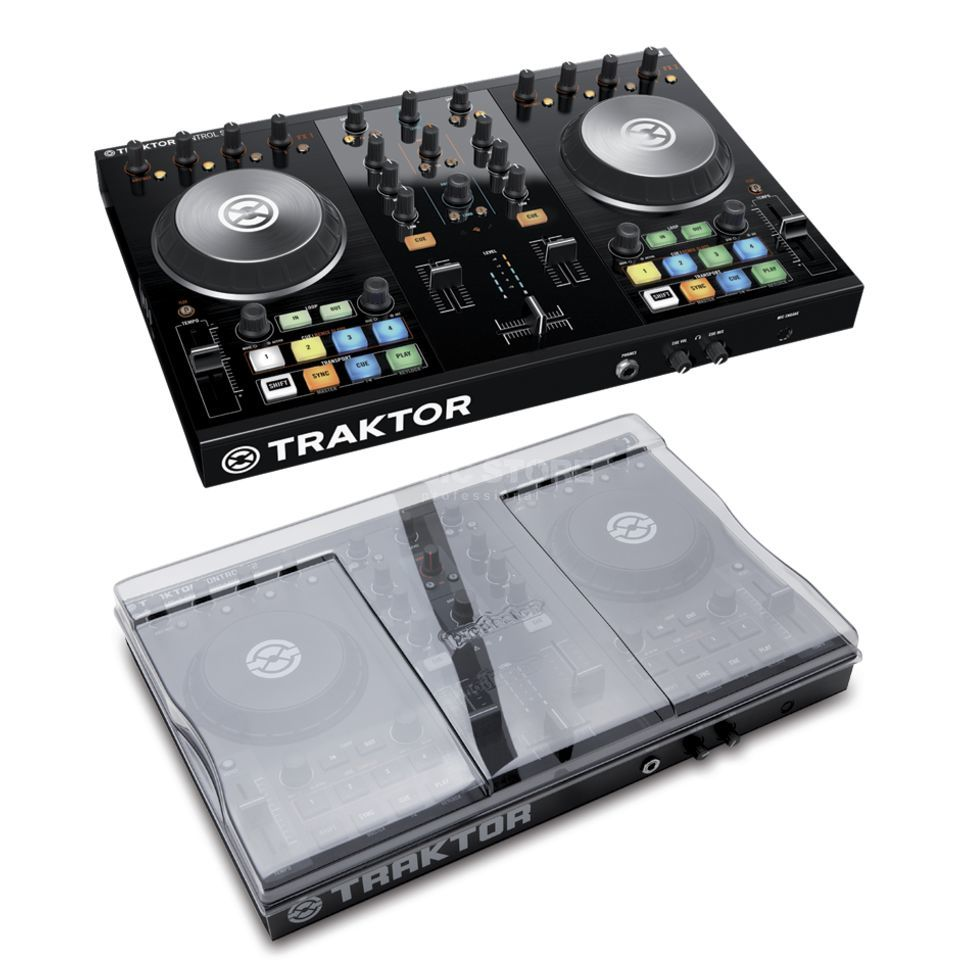 Native Instruments S2 MKII + Schutz Cover - Set Produktbild