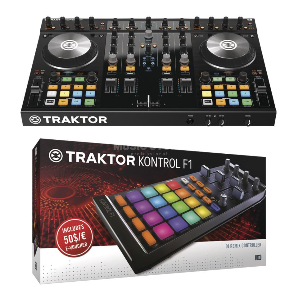Native Instruments S4 MKII + Kontrol F1 - Set Produktbild