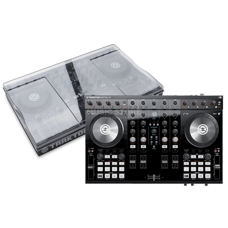 Native Instruments S4 MKII + S4 Cover - Set Produktbild