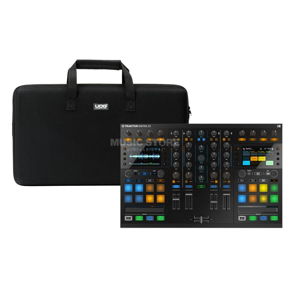 Native Instruments S5 + Hardcase (U8302BL) - Set Product Image