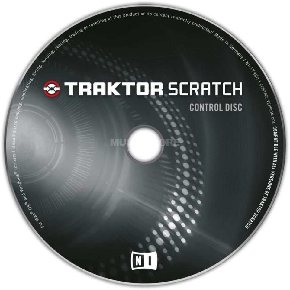 Native Instruments Traktor Control CD  Scratch Pro (Old Version) Productafbeelding