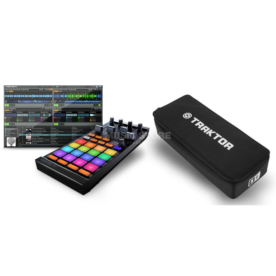 Native Instruments TRAKTOR Kontrol F1 + Bag - Set Produktbillede