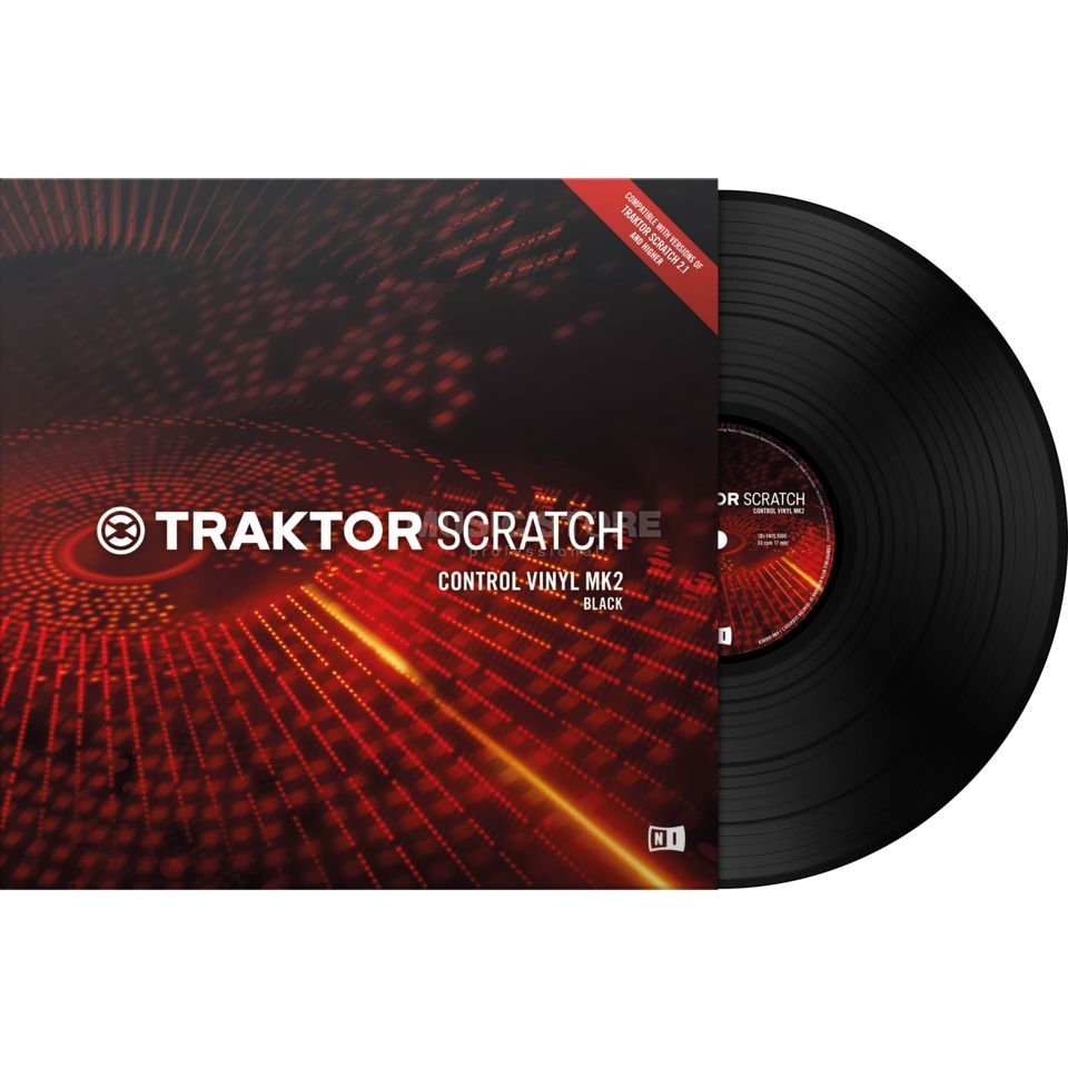 Native Instruments Traktor Scratch Control Vinyl MK2 Black (New Version) Produktbild