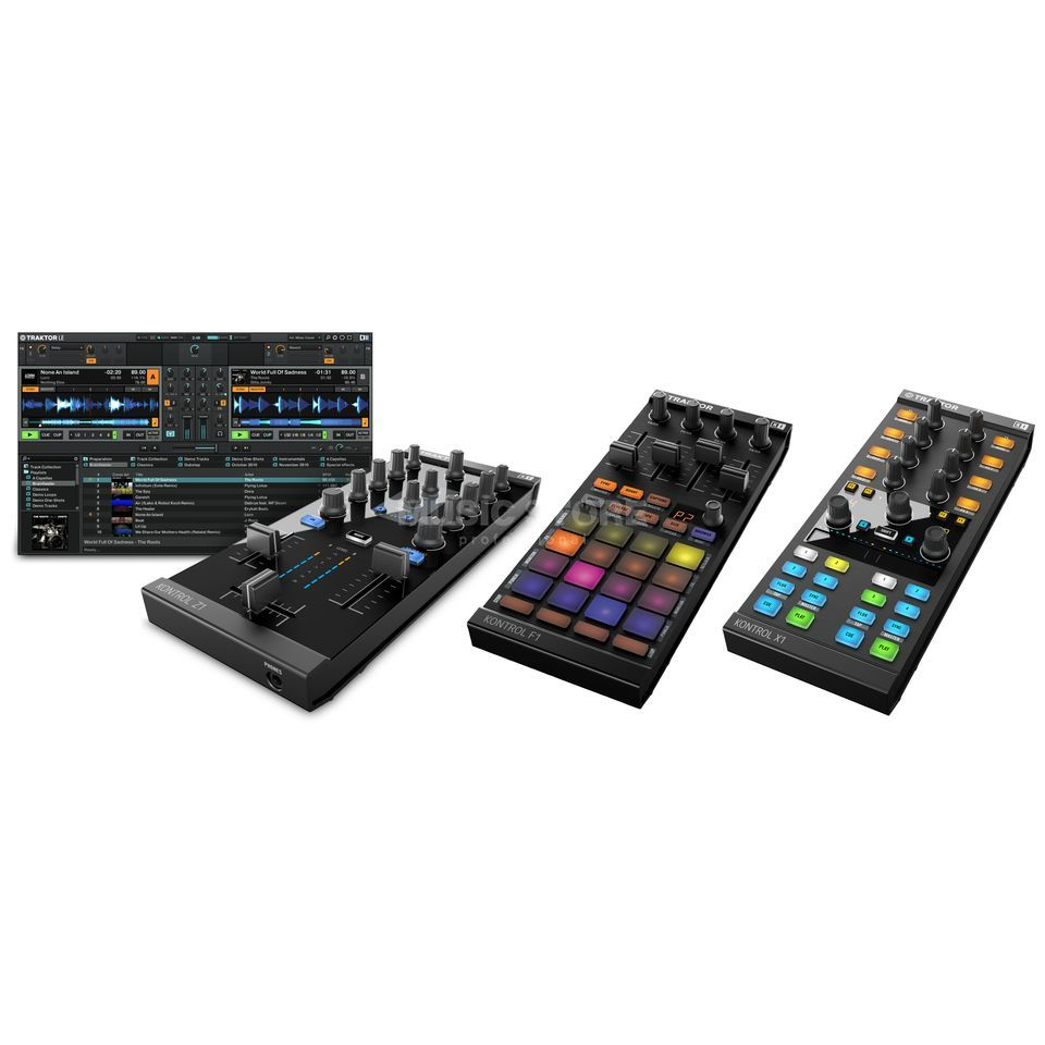 Native Instruments Z1 + F1 + X1 MK2 - Set Produktbild