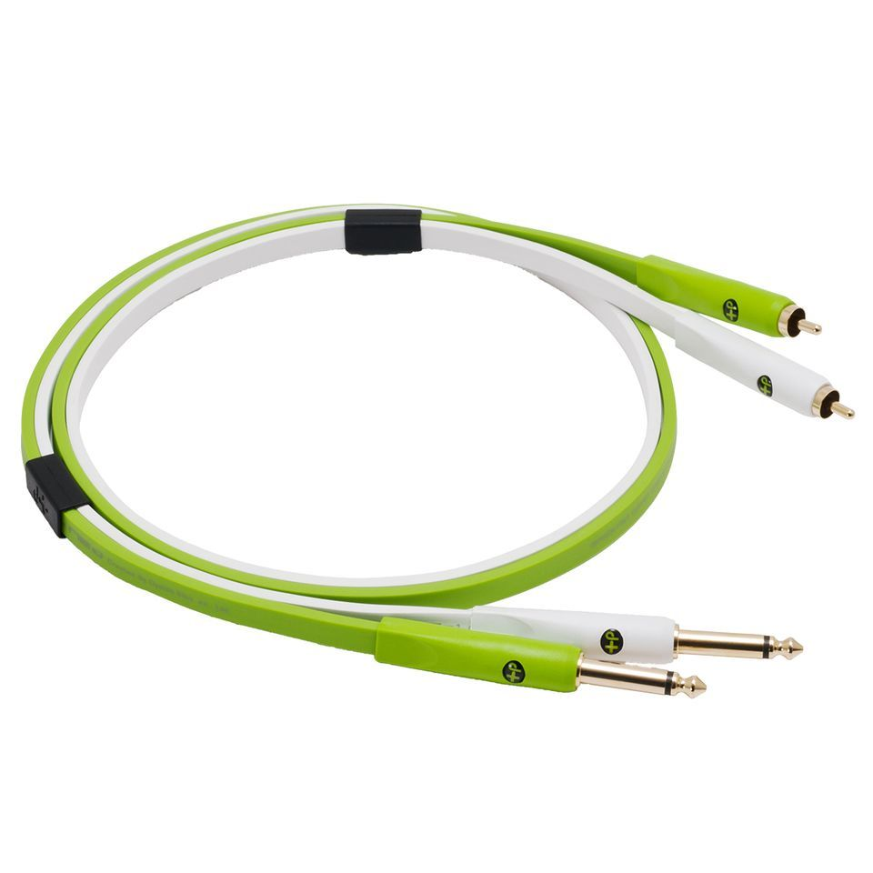 NEO by Oyaide d+ Stereo RCA/2x6.3mm Jack Cable, Class B, 2.0m Length Immagine prodotto