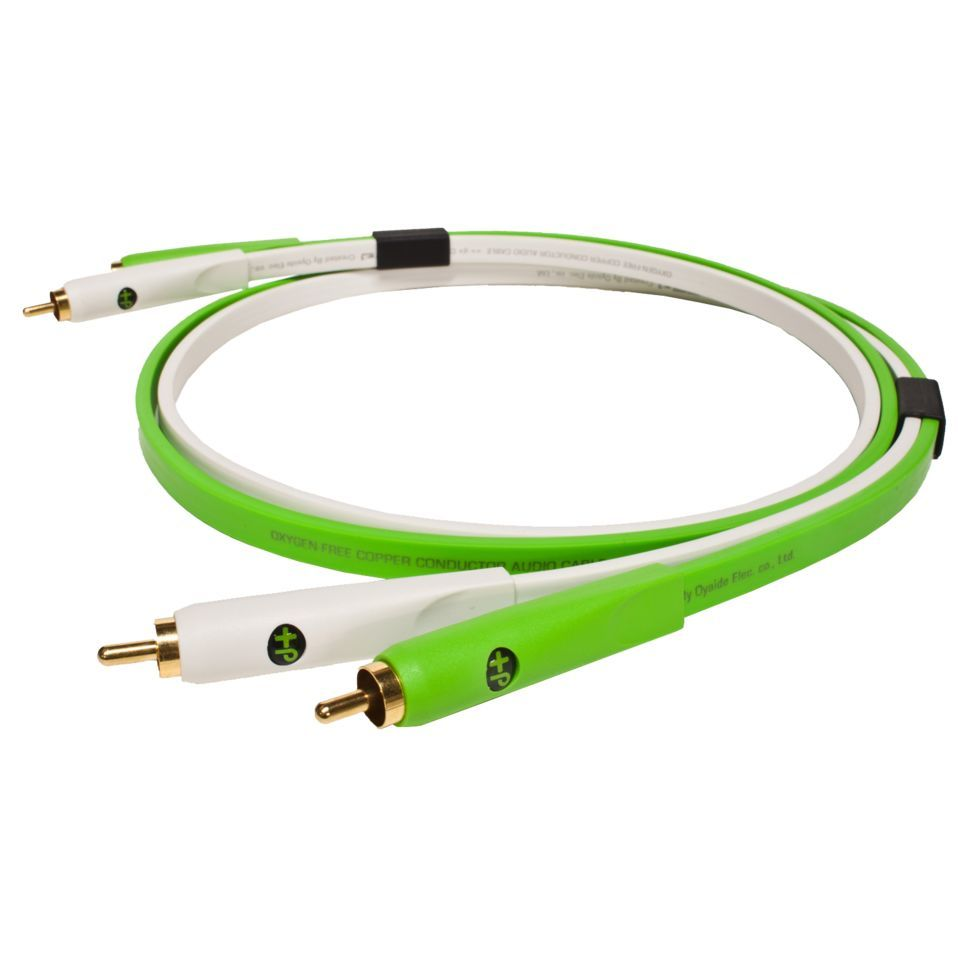 NEO by Oyaide d+ Stereo RCA Cable, Class B 1.0m Length Produktbillede