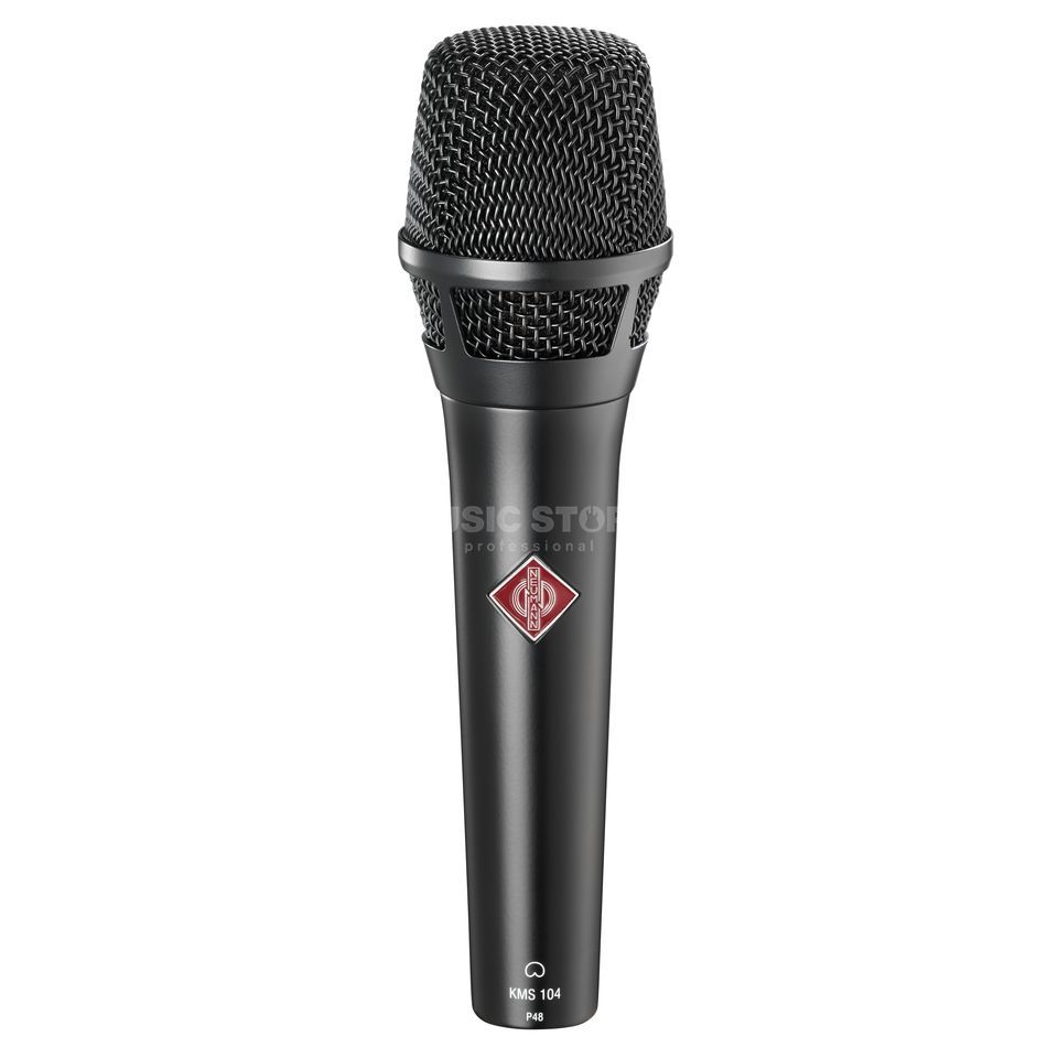 Neumann KMS 104 BLACK Condenser Vocal  Microphone   Product Image