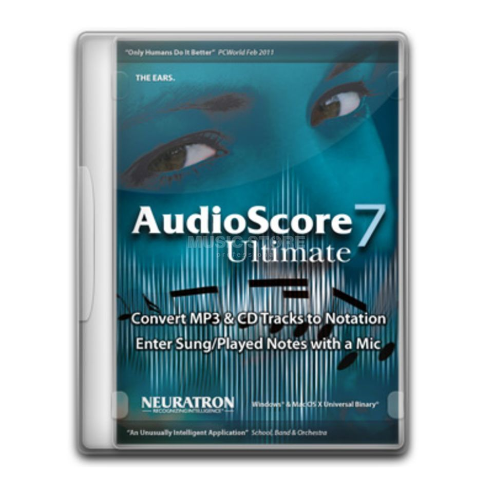 Neuratron AudioScore Ultimate 7 english Produktbillede