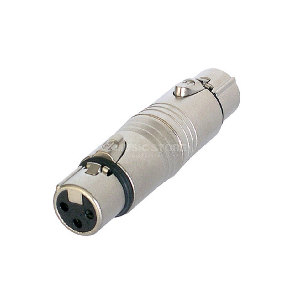 Neutrik NA3FF Adapter XLR-XLR XLR female-XLR female Product Image