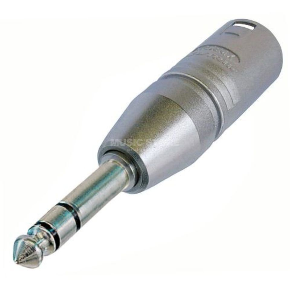 Neutrik NA3MP Adapter XLR-Klinke XLR male-Klinke male stereo Product Image