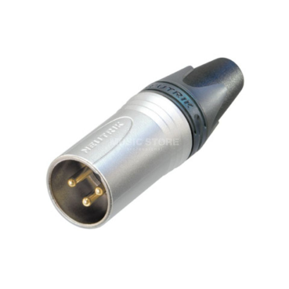 Neutrik NC3MXX-HE Cable Connector male, 3-pole Product Image