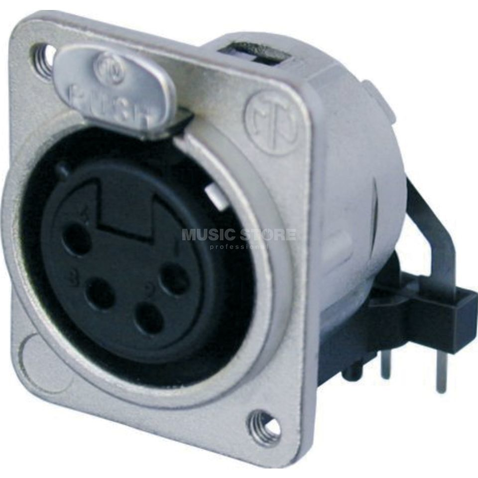 Neutrik NC4FD-L-1 Chassis Connector female, 4-pole Produktbillede