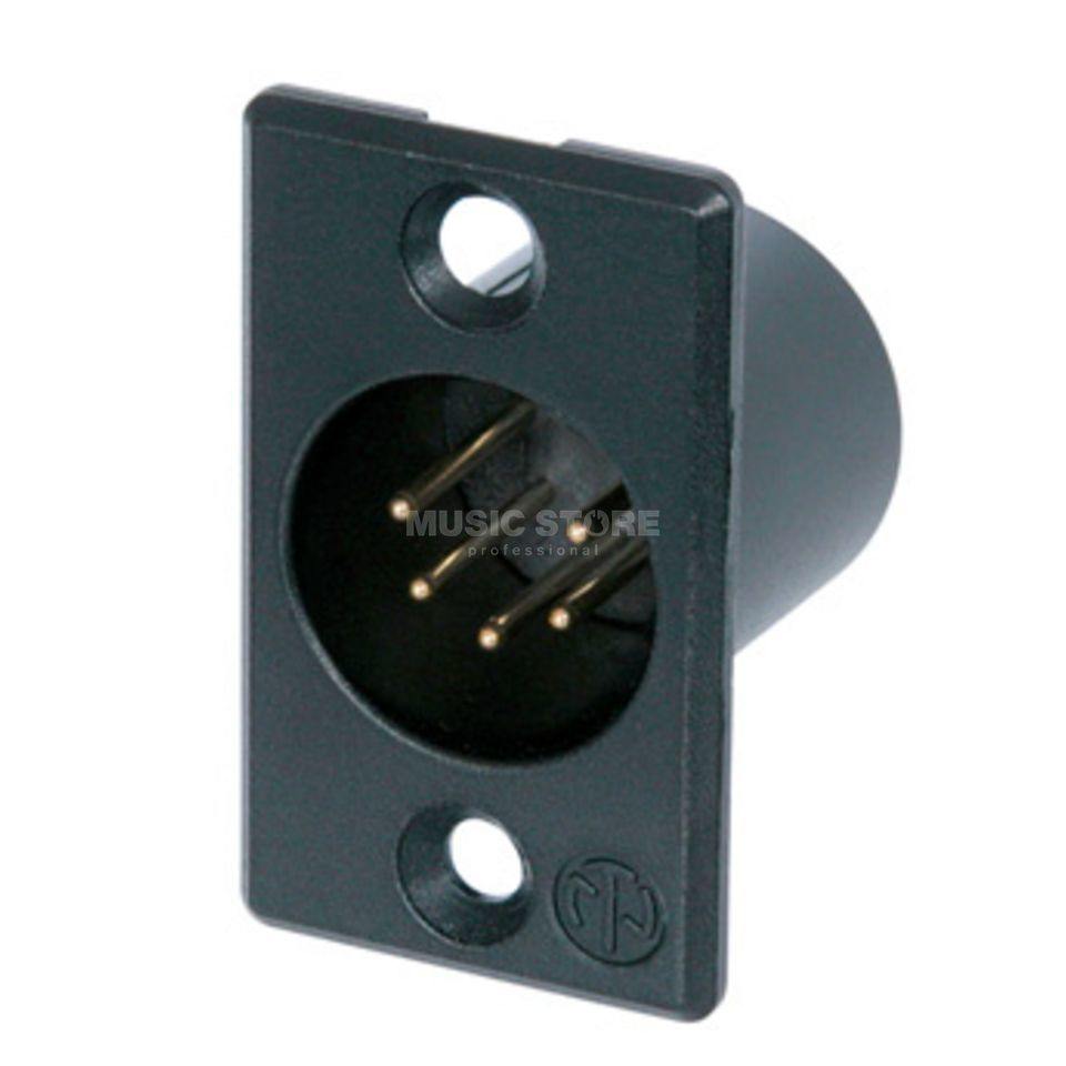 Neutrik NC5MP-B Chassis Connector 5 pole male Produktbillede