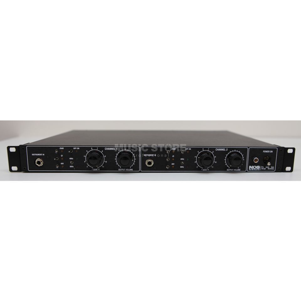 "New Old Sound M-One MicPreamp/DI 2-Channel, 19"" Produktbillede"
