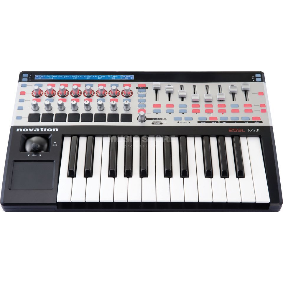 Novation 25 SL MkII USB Controller Keyboard Produktbild
