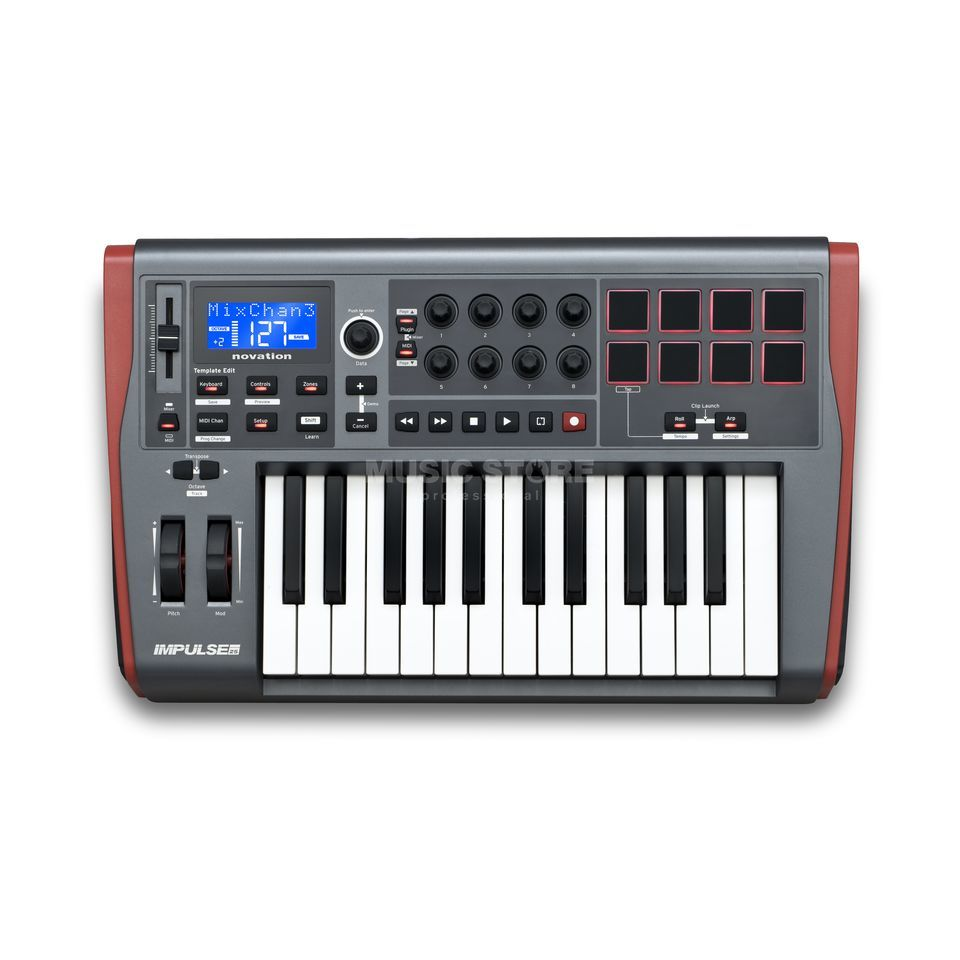Novation Impulse 25 Produktbild