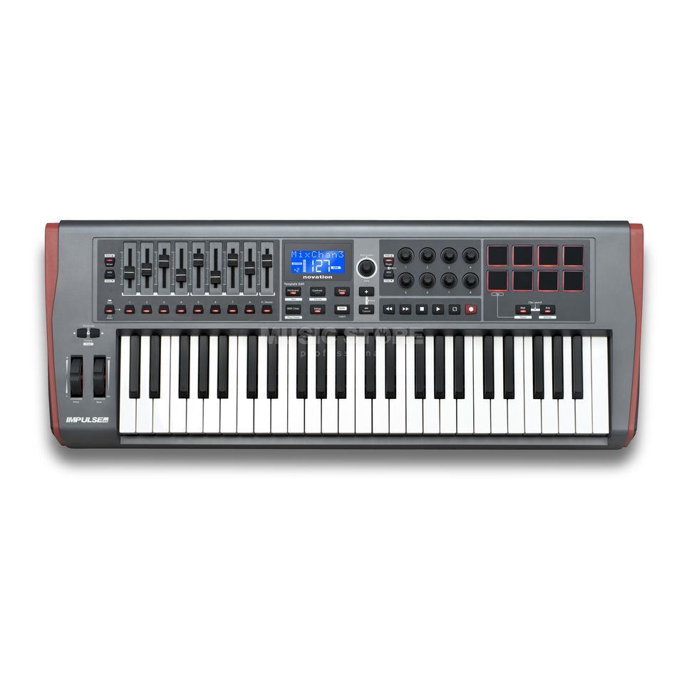 Novation Impulse 49 Controller Masterkeyboard Produktbillede