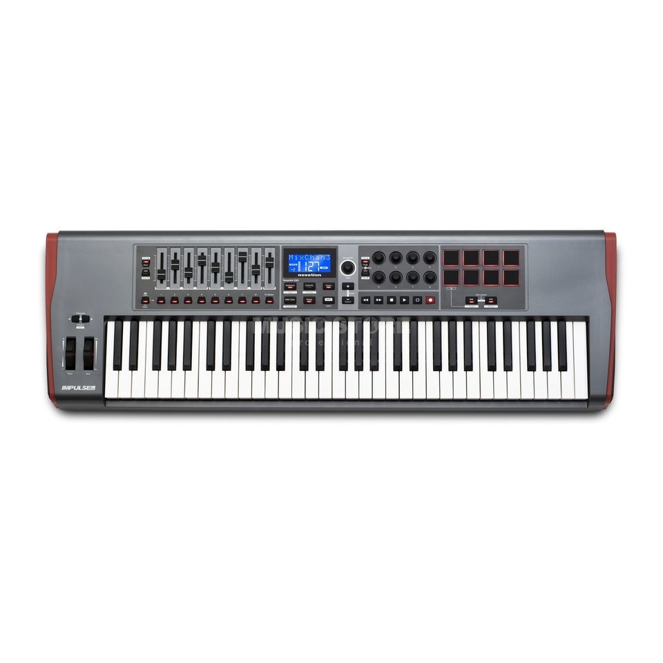 Novation Impulse 61 Controller Masterkeyboard Produktbillede