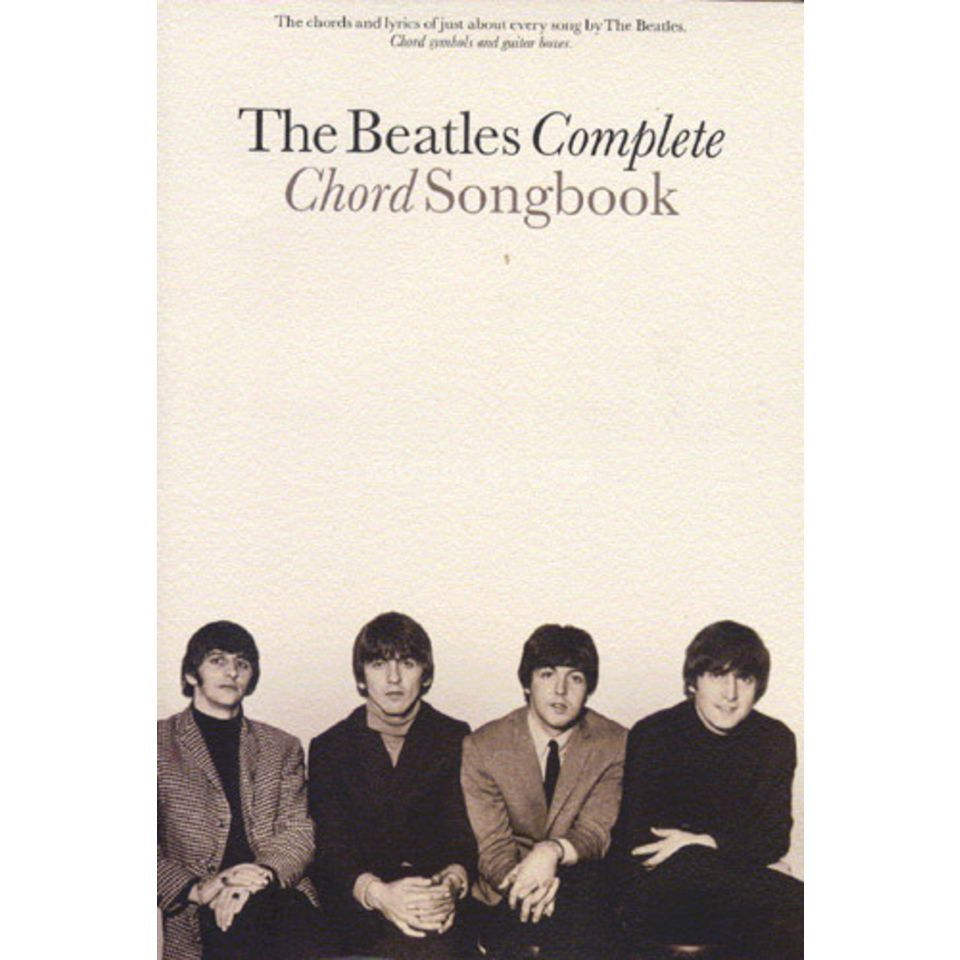 Novello Beatles Complete Chord Book Lyrics & Chords Produktbillede