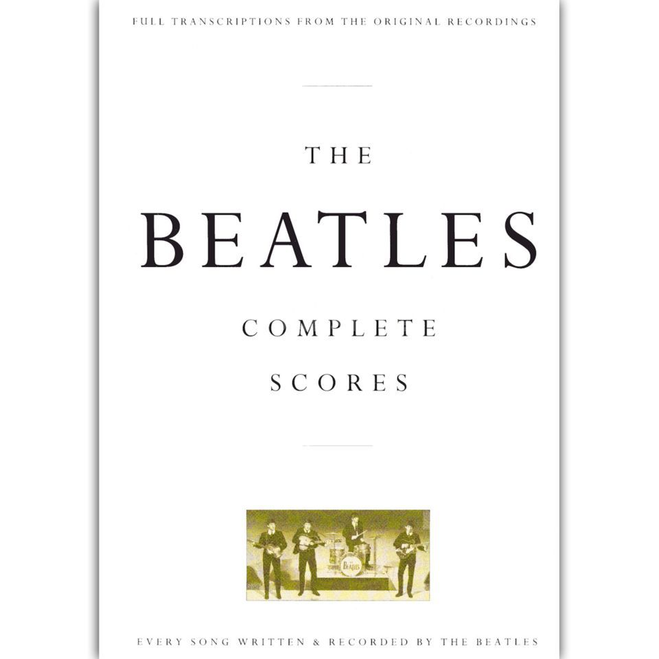 Novello Beatles - Complete Scores Box edition full rock score Produktbild